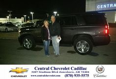 Congratulations to Linda Or David Hill on your #Chevrolet #Tahoe purchase from Todd Wells at Central Chevrolet Cadillac! #NewCar