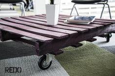 TABLE PALETT RECYCLE REDO MAUS BETANCOURT GUATEMALA mueble, mesa de sala, moderno, reciclado Recycling, Table, Crafts, Furniture, Ideas, Design, Home Decor, Upcycling, Hands