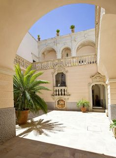 Palazzo Gorgoni Palazzo Gorgoni is a stunning villa located in Galatina, Italy. The 18th-century building was renovated into its present condition in 2013, and is currently available for short-term rent.