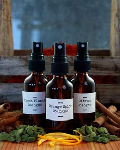 "Make your own botanical perfumes and colognes.  ""Did you know that most perfumes and colognes are manufactured using synthetic chemicals, even petroleum? Many of these ingredients do not need to be listed on the labels, but are known allergens, hormone disruptors, and irritants. The majority have never even been studied for cosmetic use!"" / Holistic Beauty"