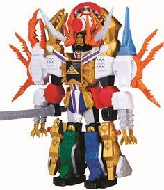 Power Ranger Samurai Zord Collection