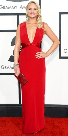 You've gotta see MIRANDA LAMBERT! Check out more looks from The 2014 Grammys Photowall on PEOPLE.com