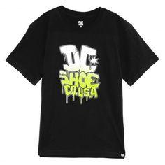 DC Shoes Fatcap BY tee-shirt garçons deep red - marine blue - black  26€ #dc…