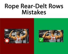 Cable Rope Rear-Delt Rows Mistakes #Exercises_Mistakes #Mistakes_at_gym #Shoulder_Exercises_Mistakes #muscles_pain # joints_pain #Shoulder_Exercises