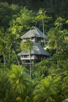 Hilton Bora Bora Nui Resort & Spa, Bora Bora...retreat in nature somewhere quiet, peaceful, surrounded by lush greenery