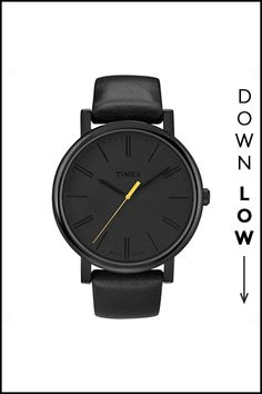 15 Work Must-Haves For Every Budget #refinery29  http://www.refinery29.com/budget-work-clothes#slide-14  The I'm-Never-Late Watch An all-black watch feels cool and super fresh.