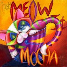 Meow Mocha by Alma Lee