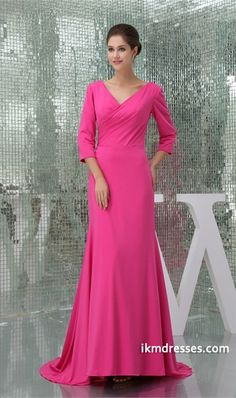 http://www.ikmdresses.com/Silk-like-Satin-Brush-Sweep-Train-Mother-of-the-Bride-Dress-p20050