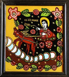 Orthodox Icons, Folk, Christian, Glass, Artist, Painting, Popular, Drinkware, Corning Glass