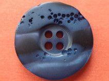 12 KNÖPFE dunkelblau 23mm (6475)Mantelknöpfe Knopf