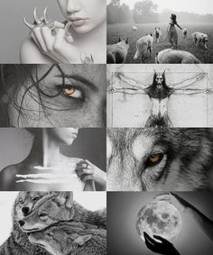 """saltkind: """"""""the signs as mythical creatures cancer ♋ werewolf ruled by the moon, pack mentality, loyal """" """" Badass Aesthetic, Witch Aesthetic, Aesthetic Collage, Mythical Creatures, Cool Pictures, Beautiful Pictures, Aesthetic Wallpapers, Dark Art, Character Inspiration"""