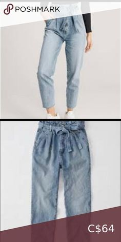 Abercrombie paper bag waist mom jeans NWOT Never worn excellent condition Abercrombie & Fitch Jeans Straight Leg Source by danna_mcdonald Bags fashion Abercrombie And Fitch Jeans, Plus Fashion, Womens Fashion, Fashion Tips, Fashion Trends, Jeans Straight Leg, Paper Paper, Paper Bags, Mom Jeans