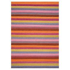 Enjoy Flatweave Multi-coloured Rugs 216 001 990 - Free UK Delivery - The Rug Seller