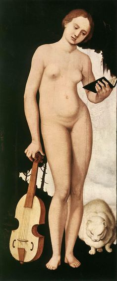 Music (1529). Hans Baldung, called Grien, (1484-1545). Renaissance (Northern). Allegory. Oil on wood. Alte Pinakothek, Munich. Baldung probably trained with Dürer in Nuremberg, acquiring the Grien nickname, but his brilliant color, expressive use of...