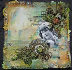 ANNETTE IN OZ: Canvas work