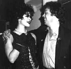 Tim Curry with a Frank N. Fuhrter actor.