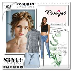 """""""Rosegal 6"""" by angel-a-m on Polyvore featuring Armani Jeans, MensFashion, polyvoreeditorial, polyvorefashion and rosegal"""