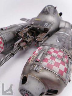 HASEGAWA Ma.K. 1/20 scale Pkf.85 Falke. By Luca Zampriolo. #Ma_K #Maschinen_Krieger - Kallamity
