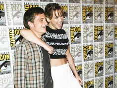 The star crossed lovers at Comic Con!