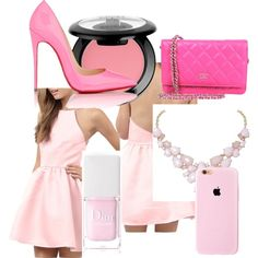Designer Clothes, Shoes & Bags for Women Christian Dior, Christian Louboutin, Nyx, Polyvore Fashion, Aurora Sleeping Beauty, Chanel, Shoe Bag, Chic, My Style