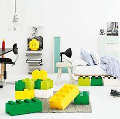 LEGOsäilytysrasioita