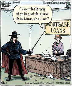 zorro buying a house