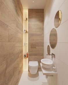 The other small bathroom design ideas are roomy and revolutionary, rethinking wh. - The other small bathroom design ideas are roomy and revolutionary, rethinking what we expect a bath - Small Bathroom Colors, Small Bathroom Vanities, Bathroom Design Small, Bathroom Layout, Bathroom Interior Design, Bathroom Styling, Bathroom Ideas, Small Bathrooms, Master Bathroom