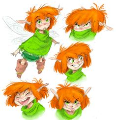Wee lil' Fen. She certainly was a lot more cheerful as a youngster.