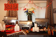 Chili Cook-off party ... great scoring idea!
