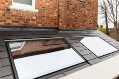 Lumen bespoke rooflights were used to provide natural light in this fantastic kitchen extension