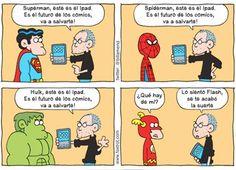 El futuro de los cómics.