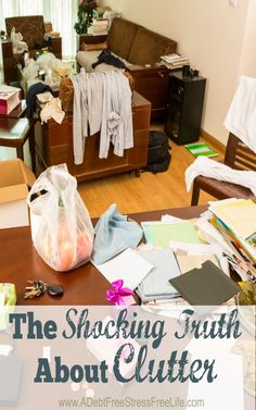 Because clutter is so negative and draining, having it around prevents the positive energy of money to flow to you. It's an energy block you must work to get rid of.
