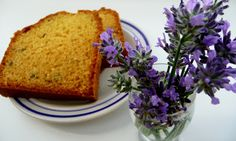 Levanduľový koláč