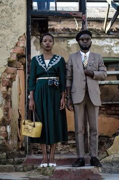 Interview with the Vintage Fashion Guru of Namibia