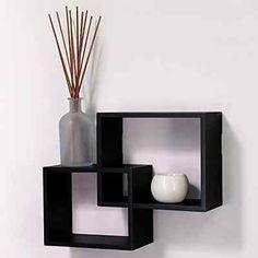 Floating Wall Shelf Display Shelves Corner Rack Home Decorative Hanging Mount