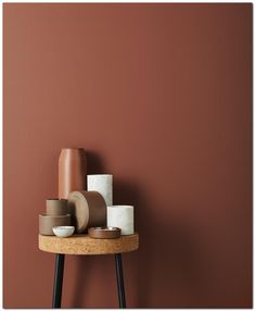 Terracota, marsala, brick: the return is variegated - Color Inspiration, Interior Inspiration, Wall Colors, Paint Colors, Colours, Deco Rose, Trendy Colors, Color Trends, Design Trends