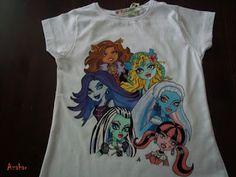 El blanco Azahar: Camisetas Monster High
