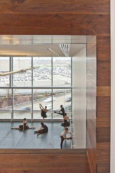 Houston Ballet Center for Dance,Courtesy of Gensler