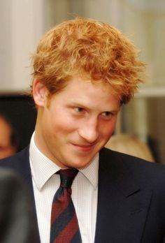 Prince Harry looking just like Diana