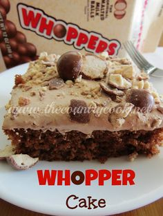 This is Whopper, as in malted milk balls, not the grilled kind found at Burger King. That would be a bit weird, wouldn't it?If you love the flavor of Whoppers, then you will really enjoy this cake. I think malted milk is an underused ingredient.I mean, back in the day, you couldn't go into any...Read More »