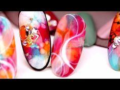 Autumn See-Thru Lace Nail Art (ネイル) Japanese Nail Art Tutorial [HD] - YouTube