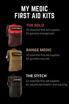 MyMedic was started with one objective in mind, to save lives. The goal is to prepare everyone with equipment and training for the unexpected emergency. Camping Items, Camping Essentials, Camping Life, Camping Gear, Best Survival Gear, Best Hiking Gear, Jacobs Well, Ultralight Tent, Athletic Gear