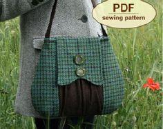 Patrón de costura para hacer bolsa del cazador por charliesaunt