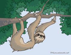Sloth by lithiumboy.deviantart.com on @DeviantArt