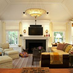 Tv Above Fireplace Design, Pictures, Remodel, Decor and Ideas - page 12