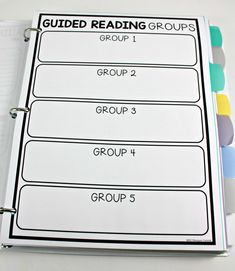 Guided Reading Teacher Binder - Tunstall's Teaching Tidbits