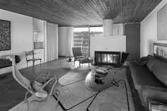 Marcel Breuer (1902-1981) | The George and Vera Neumann Residence | Croton-on-Hudson, NY | 1953