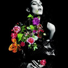 Nina Ricci La Rue Handbag, Fall 2012 #campaign | Kati Nescher by Inez van Lamsweerde & Vinoodh Matadin