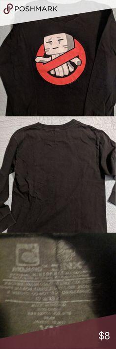 NWT OLD NAVY Minecraft Creeper Tee T-Shirt Tees Shirt Top NEW Boys XL 14 16