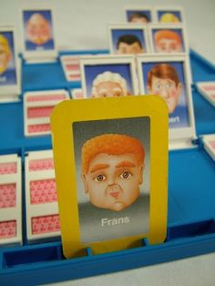Check out Frans from Guess Who? from Awesome 90s Things You Forgot About